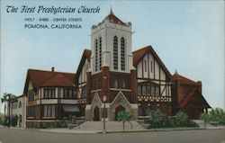 The First Presbyterian Church Postcard