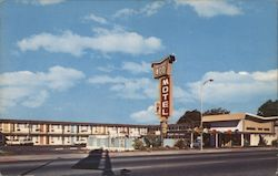 Imperial '400 Motel Postcard