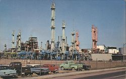 Petroleum Cracking Plant