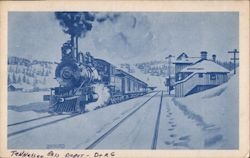 Tennessee Pass Depot, Denver & Rio Grande Railroad
