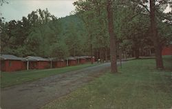 Leatherwood Cottages Postcard