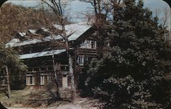 Edward F. Worst Craft House Main Building of Penland School of Handicrafts Postcard