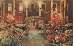 Christmas Time At The Park View Inn Postcard
