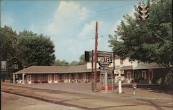 Berkeley Springs Motel Postcard