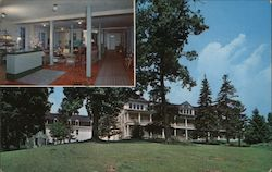 Balsam Mountain Inn Postcard
