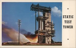 Static Firing Test Tower - Marshall Space Flight Center Postcard