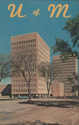 U of M, Campus Scene - University of Minnesota Postcard