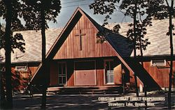 Christian Retreat Family Campgrounds Postcard