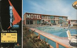 Towne and Country Motel Postcard