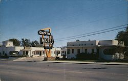 Clark Inn Motel Postcard