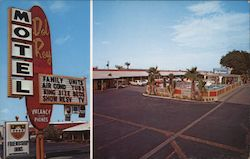 Del Ray Motel Postcard