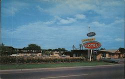 Patty's Motor Hotel and Restaurant Postcard