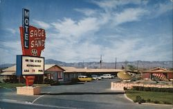 The Sage and Sand Motel Postcard