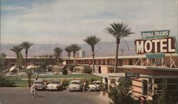 The Royal Palms Motel Postcard