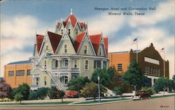 Hexagon Hotel and Convention hall Postcard