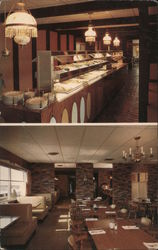 Roesner's Motor Lodge and Restaurant Postcard