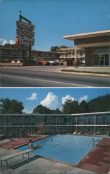 Avanelle Motor Lodge Postcard