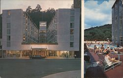 The Aristocrat Motor Inn Postcard