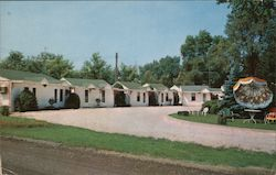 Fleck's Motel, Routes 97 and 125 Postcard