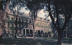 Parker Hall, Bates College Postcard