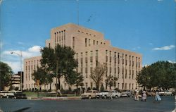 Lubbock Co. Court House Postcard