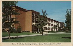 David O. McKay Building, Brigham Young University Postcard