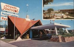 Howard Johnson Motor Lodge Postcard