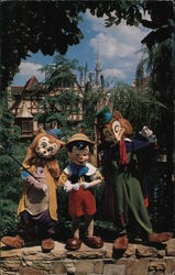 Watch Out Pinocchio! - Walt Disney World Postcard
