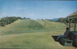 9-Hole Golf Course Mings Springs Postcard