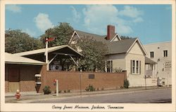 Casey Jones Museum Postcard