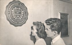 Cambridge School of Business - Radio-TV Broadcasting Postcard