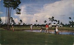Lake Lawn Golf Club Par 3 Postcard