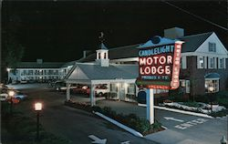 Candlelight Motor Lodge Postcard