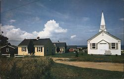 Cape Cod Village Postcard