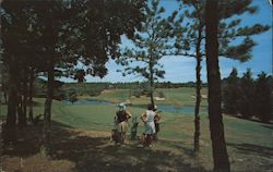 Championship Golf Course Postcard