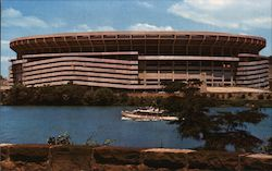 Three Rivers Stadium Postcard
