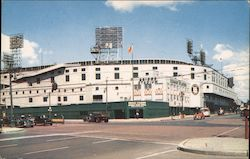 The Briggs Stadium Postcard