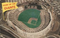 Candlestick Park - Home of the Giants Postcard