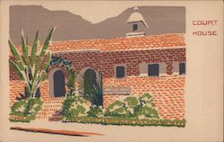 Court House - Original Serigraph Postcard