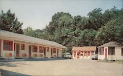 Avalon Motel Postcard