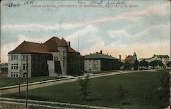 Inner Campus, University of Minnesota Postcard