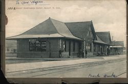 Great Northern Depot Postcard
