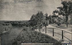 A View from Soldiers' Home Between the Twin Cities Postcard