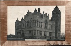 Morrison County Court House Postcard