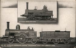 Locomotives from the London & North Western Railway Postcard