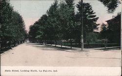 Sixth Street, Looking North Postcard