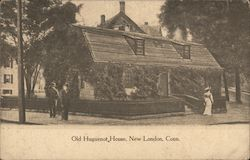 Old Huguenot House Postcard