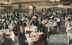 Main Dining Room at the Jules Cafe Postcard
