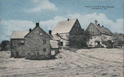 The Cloister Buildings, Hotel Cocalico Postcard