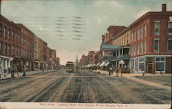 Main Street, Looking West from Cayuga Street